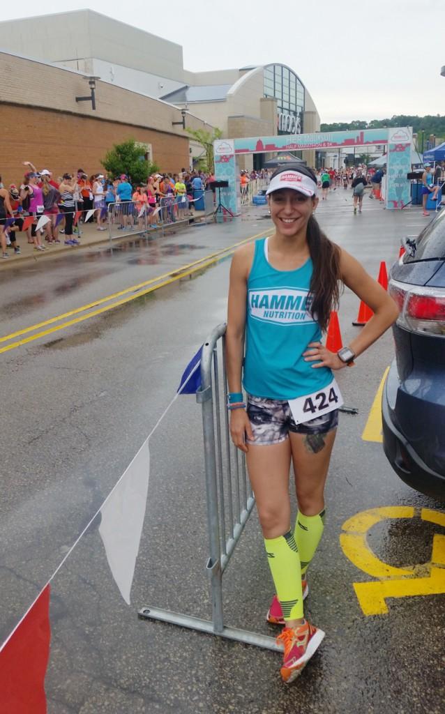 Her Madison Half Marathon 2016 Start line